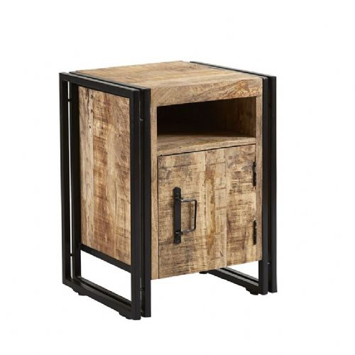Cosmopolitan Side Table With Door